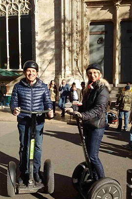 Bike and Segway Tour. The best tourist guides and routes of Valencia.