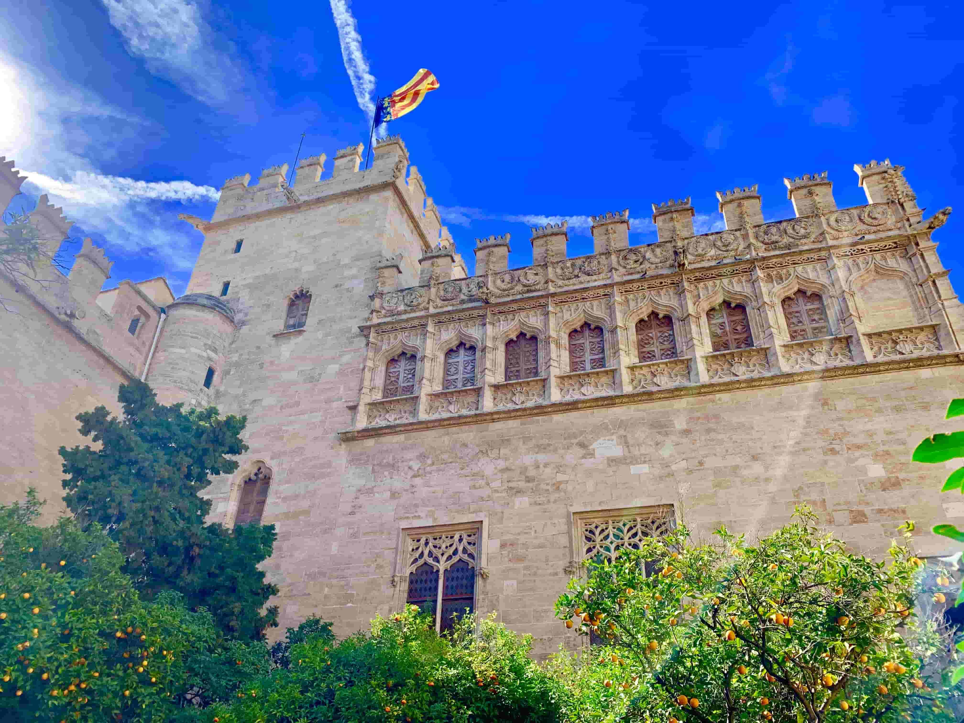 El mejor tour por el centro histórico de Valencia.