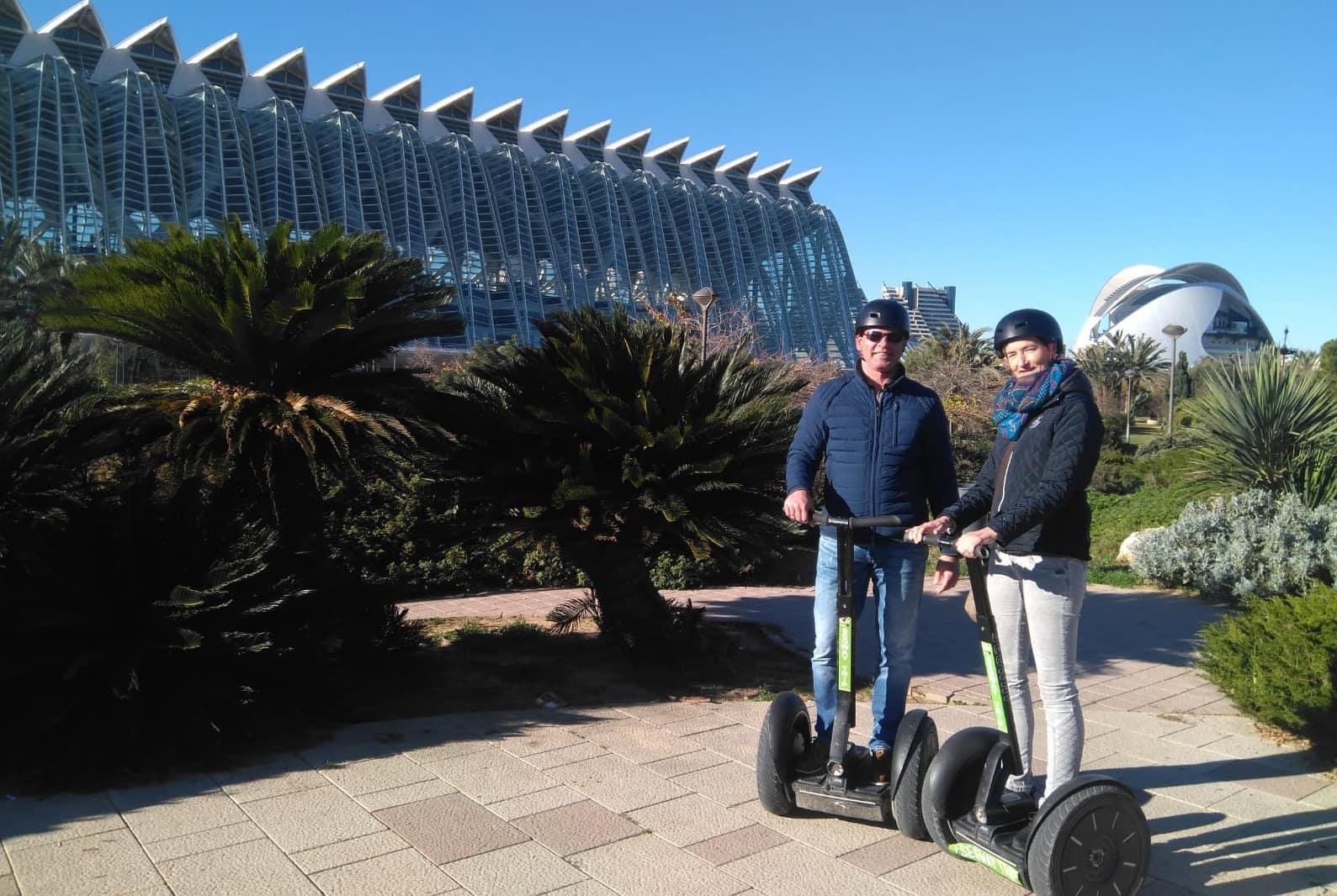 Bike e segway tout, le migliori visite di Valencia, i migliori tours per il centro storico e per la Città delle Arti e le Scienze.